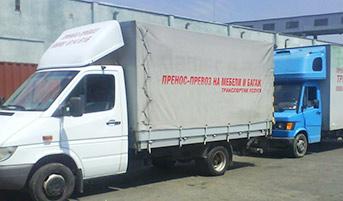 Камион с падащ борд