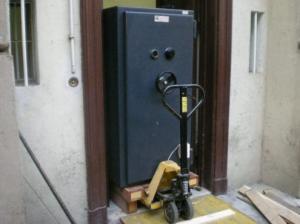 преместване на сейф